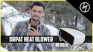 Orpat OEH-1220 2000-Watt Fan Heater - Unboxing & Review | CREATORSHED