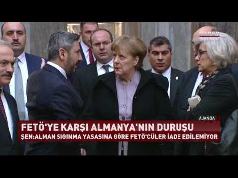 Ajanda - 5 Şubat 2017 (Merkel'in Türkiye Ziyaretinin Perde Arkası ve Almanya'nın Ortadoğu Planları)