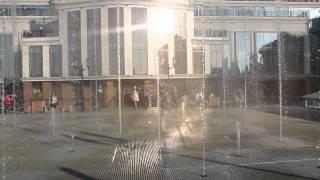 Музыкальный фонтан в городе Тула