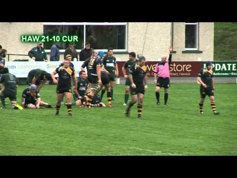 HAWICK v CURRIE PREMIERSHIP RUGBY - 12.10.13