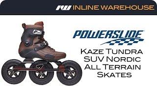 Powerslide Kaze Tundra SUV Nordic All Terrain Skates Review