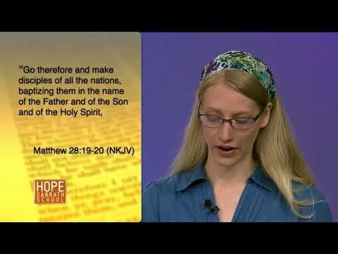 Hope Sabbath School:Lesson 8 - The Impact of Tithing (1st. Qtr. 2018)