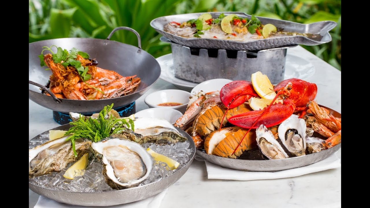 Palm Seaside Restaurant Lounge Bar A Fine Dining Seafood By Twin Palms Et