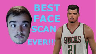 NBA 2k15 PS4 How To Get The Best Face Scan | Tutorial