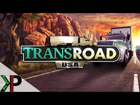 TransRoad: USA Lets Play #1 - Knee Pit Trucking is Born - TransRoad: USA Gameplay