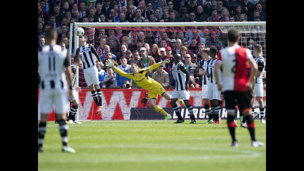 Alle 3 de doelpunten Feyenoord - Heracles 3-0 🔴⚪️
