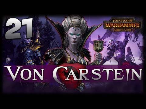 THE FLYING TERRORS! Total War: Warhammer - Von Carstein Campaign #21