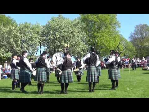 Colmcille Pipe Band @ Ards & North Down Pipe Band Championships 2016 Grade 2