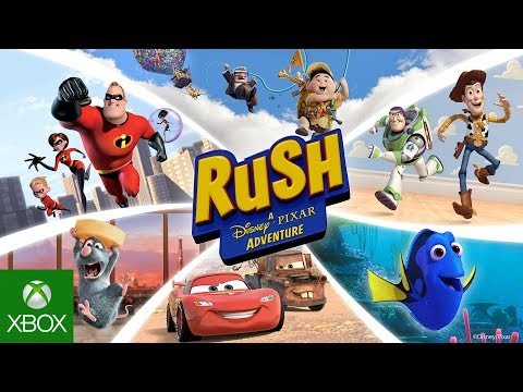 Rush: A Disney-Pixar Adventure Launch Trailer
