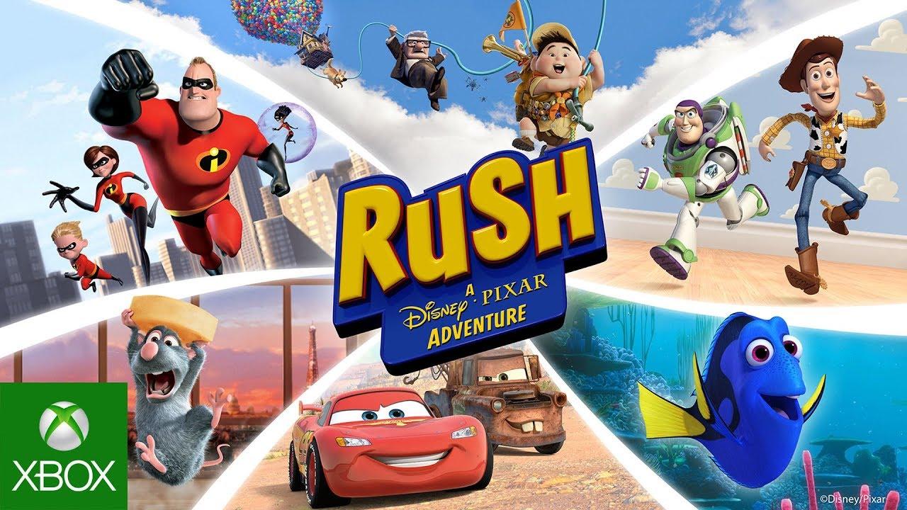 rush a disney pixar adventure launch trailer youtube