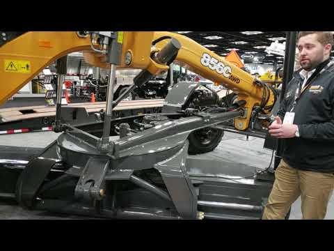 Case Displays New C-Series Motorgrader At World Of Asphalt 2019