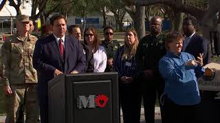 NEWS CONFERENCE: Gov. DeSantis holds coronavirus news conference in Broward Co. (31 minutes)
