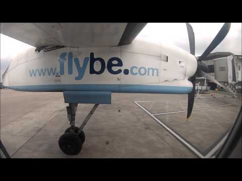 FULL FLIGHT! Manchester Airport to Southampton with Flybe.