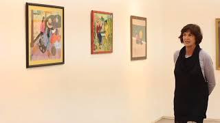 """Exposição""""O Segundo Original: influências do pós-impressionismo"""" deVenina Sparano."""