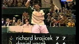 Krajicek captures titles in Rotterdam & Tokyo 1997