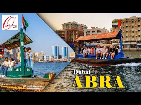 Abra Bur Dubai water Taxi ride | Dubai water canal Amazing tour