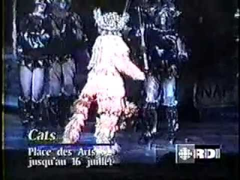 CATS 4th National Tour in Montreal