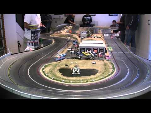Fly Le Mans on Model Riverside Raceway 11-23-2014 Final Heat [HD]