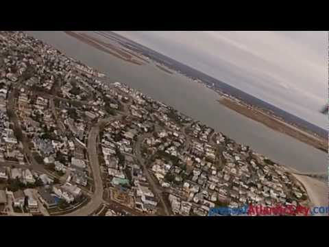 Aerial Video Of Ocean City, NJ Post Hurricane Sandy