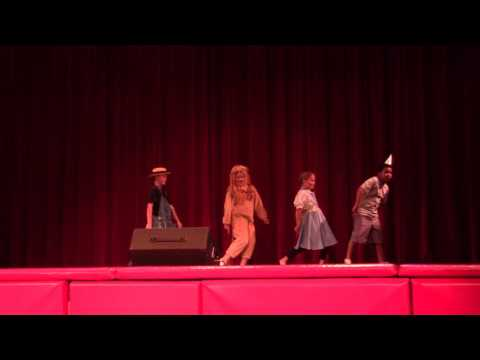 "Peyton's first musical, ""Oz"" with Village Christian Schools Summer Camp - Scene 3"