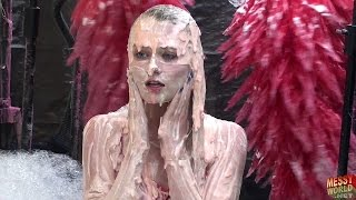 Messyworld Human Carwash: Ashleigh in Swimwear Gunged Preview …