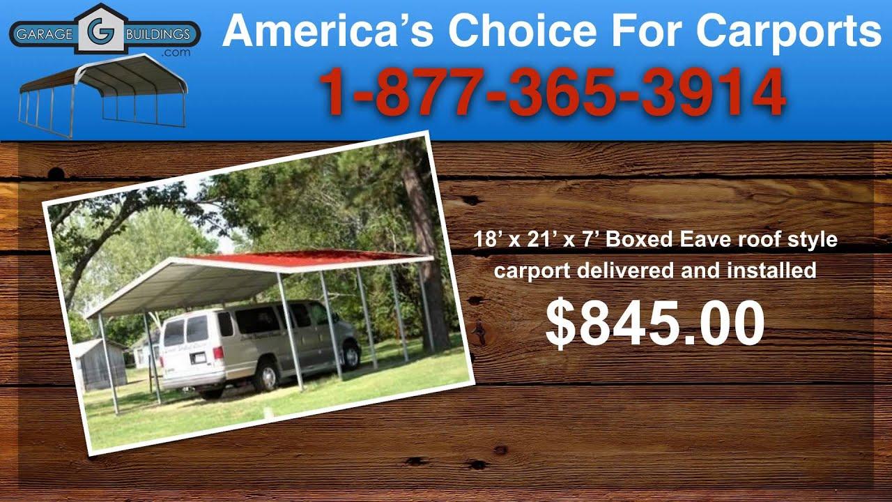 Altavista Steel Carport Kits   Virginia Carports Sale ...