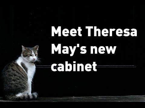 Meet Theresa May's new cabinet