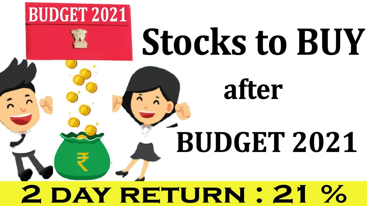 Download Best Shares to BUY after Budget 2021 | Budget 2021 Stocks/ Sectors| Shares to buy in Market Crash