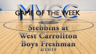 MVCC Game of the Week: Stebbins v West Carrollton Boys Freshman