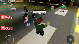 Me rapping on Auto rap battles| Roblox