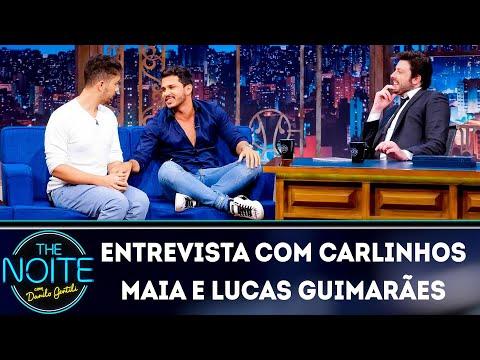 Entrevista com Carlinhos Maia e Lucas Guimarães  The Noite 200319