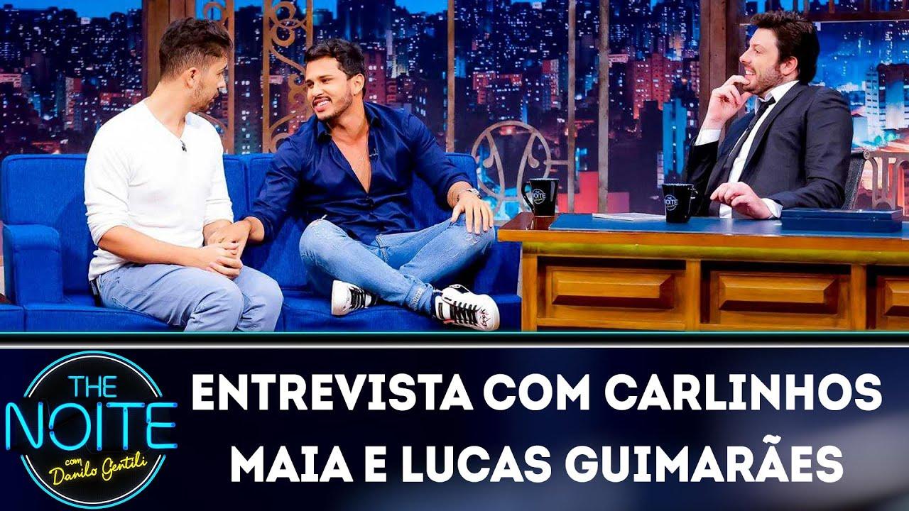 Entrevista com Carlinhos Maia e Lucas Guimarães | The Noite (20/03/19)