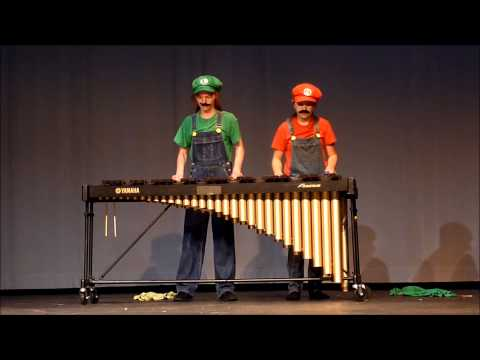 Super Mario Bros Theme Song on Marimba