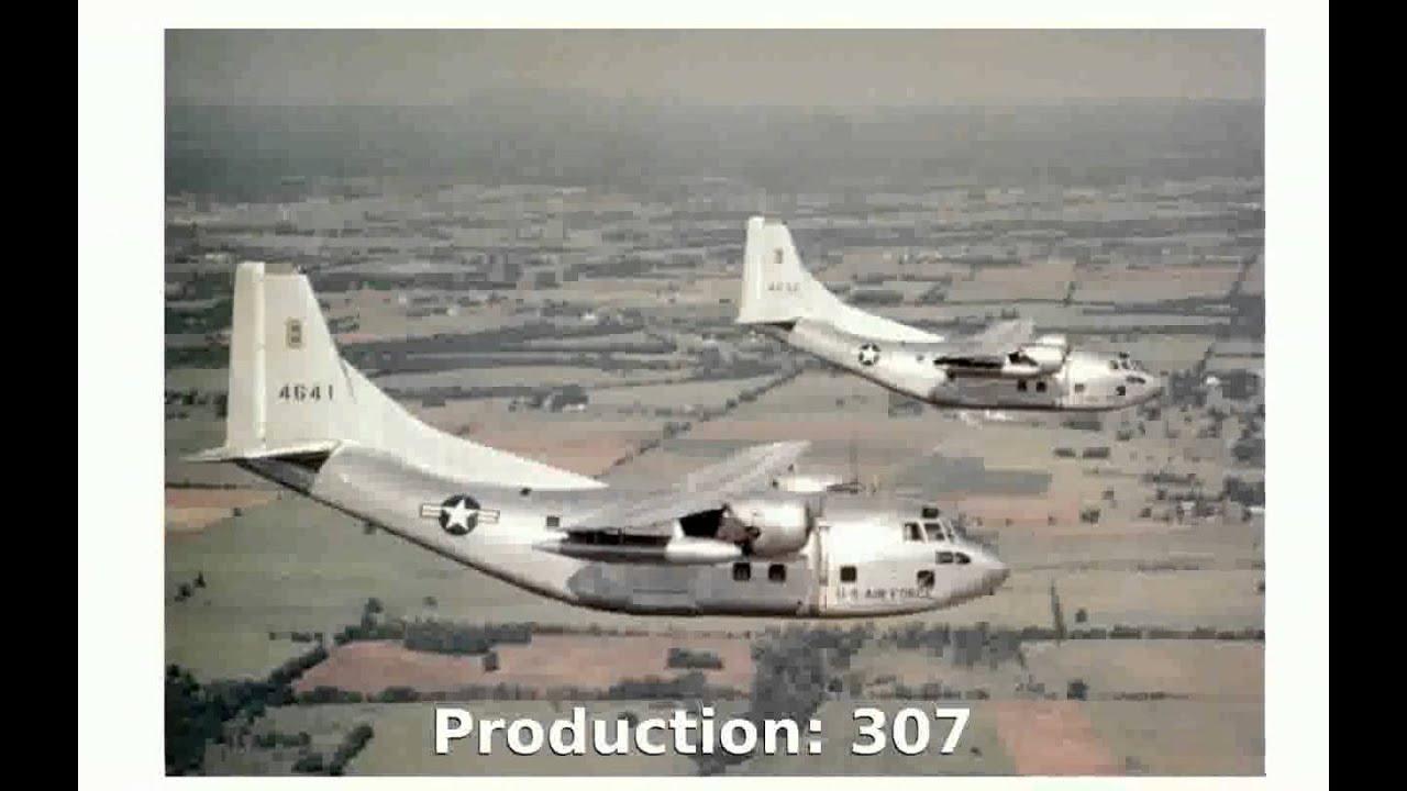 Fairchild C-123 Provider Transport Aircraft (1952) Technical Specs Info -  juanaran