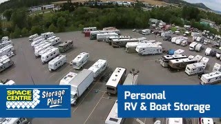 Personal RV & Boat Storage - Space Centre Self Storage Kelowna