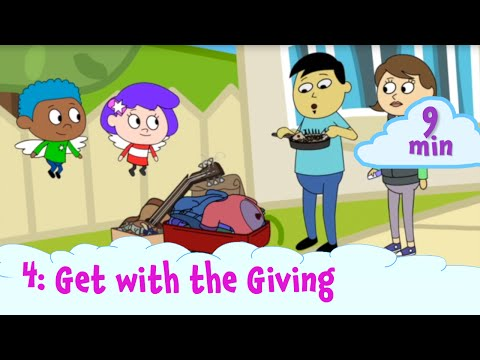 Get With the Giving - Gabi and Rafi Talk About Tzedakah | Shaboom!