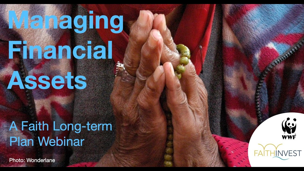 Webinar: Managing financial assets & investments