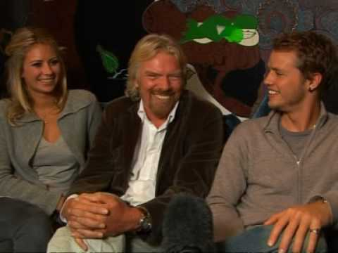 Richard Branson sets sail with his kids - YouTube