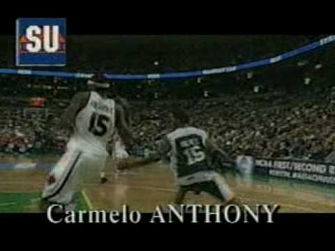 Carmelo Anthony highlights vs. Manhattan 2003 NCAA Tournament
