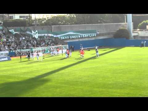 横浜FC対東京ヴェルディ 試合後  Yokohama FC 2-1 Tokyo Verdy post game 2011.06.04