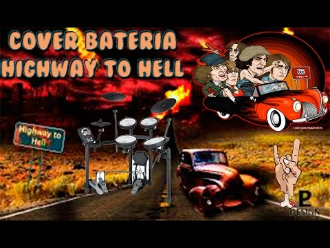 cover bateria acdc highway to hell youtube. Black Bedroom Furniture Sets. Home Design Ideas