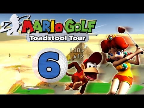 Let's Battle -- Mario Golf: Toadstool Tour - Part 6/ 14 - Weitere Pyramiden un' so...