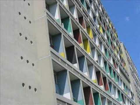 Unité d' habitation Berlin - Le Corbusier