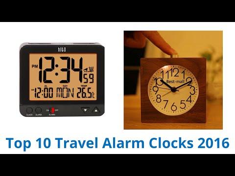 10 Best Travel Alarm Clocks 2016