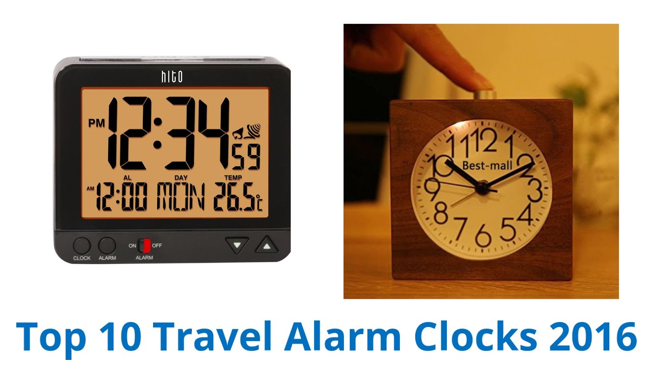 Best Travel Alarm Clocks YouTube - Best alarm clocks