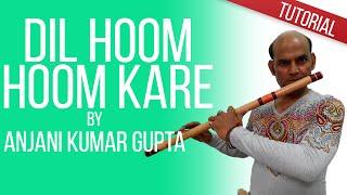 Dil Hoom Hoom Kare l Rudali | Lata l Begginers Flute Bansuri Lesson | Anjani Flute