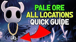 Hollow Knight- Pale Ore Location Guide for Nail Weapon Upgrades