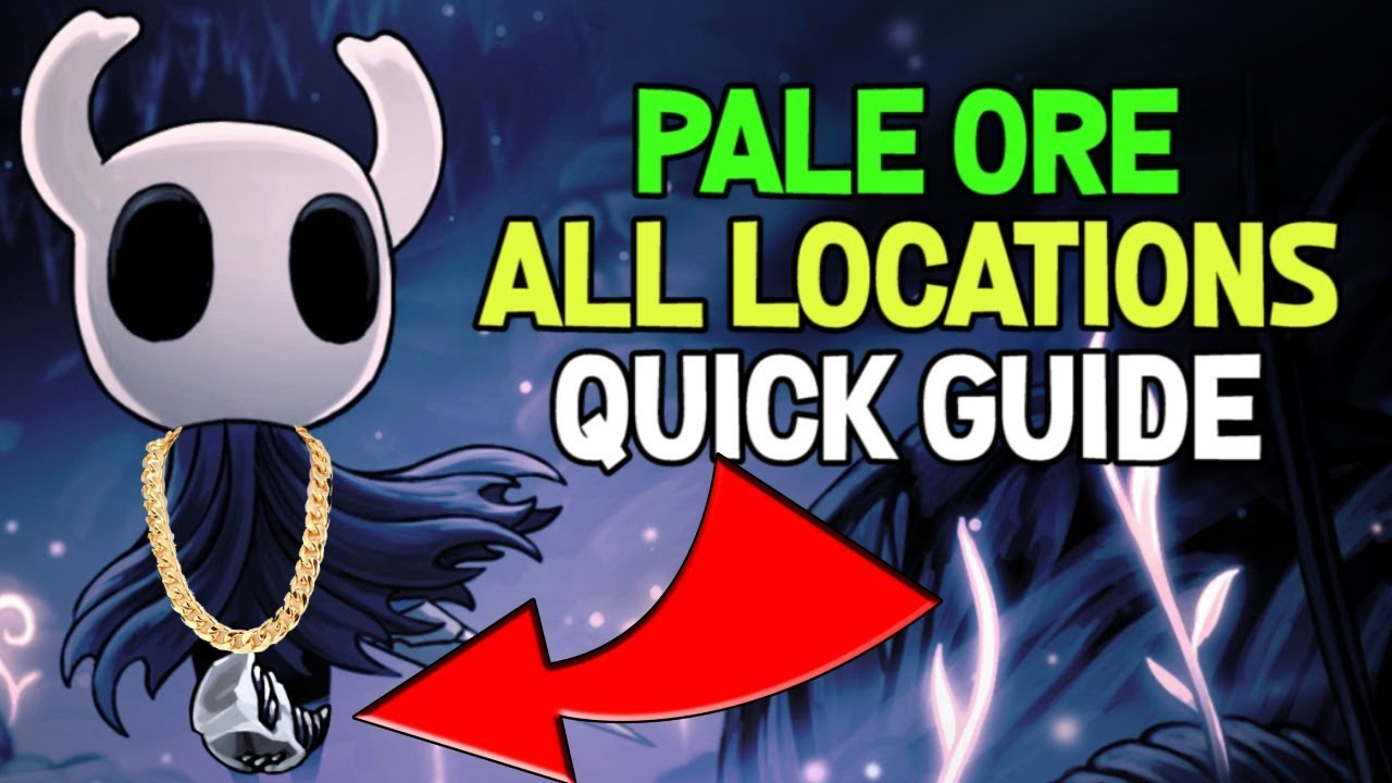 1e8fffb23 Video - Hollow Knight- Pale Ore Location Guide for Nail Weapon Upgrades   Hollow  Knight Wiki   FANDOM powered by Wikia