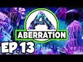 ARK: Aberration Ep.13 - NAMING TONS OF DINOSAURS & EXPLORING FIRST CAVE! (Modded Dinosaurs Gameplay)