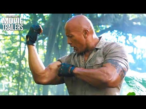 "JUMANJI 2: Welcome to The Jungle | ""The Rock"" stars in first action-packed trailer"